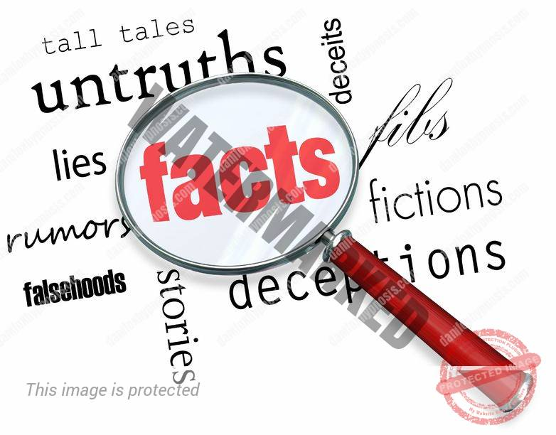 "photo of ""facts"", which are learned on my hypnosis blog"