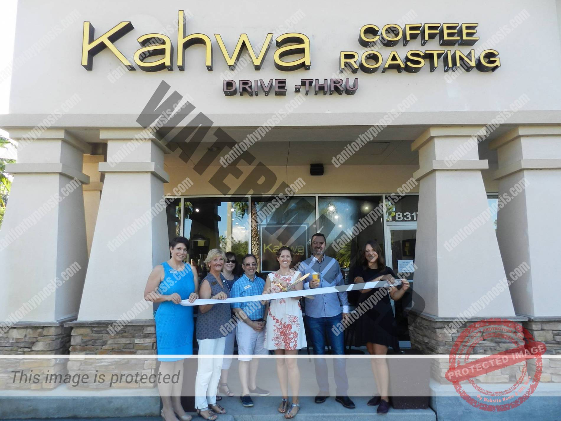 2016 Kahwa Ribbon Cutting