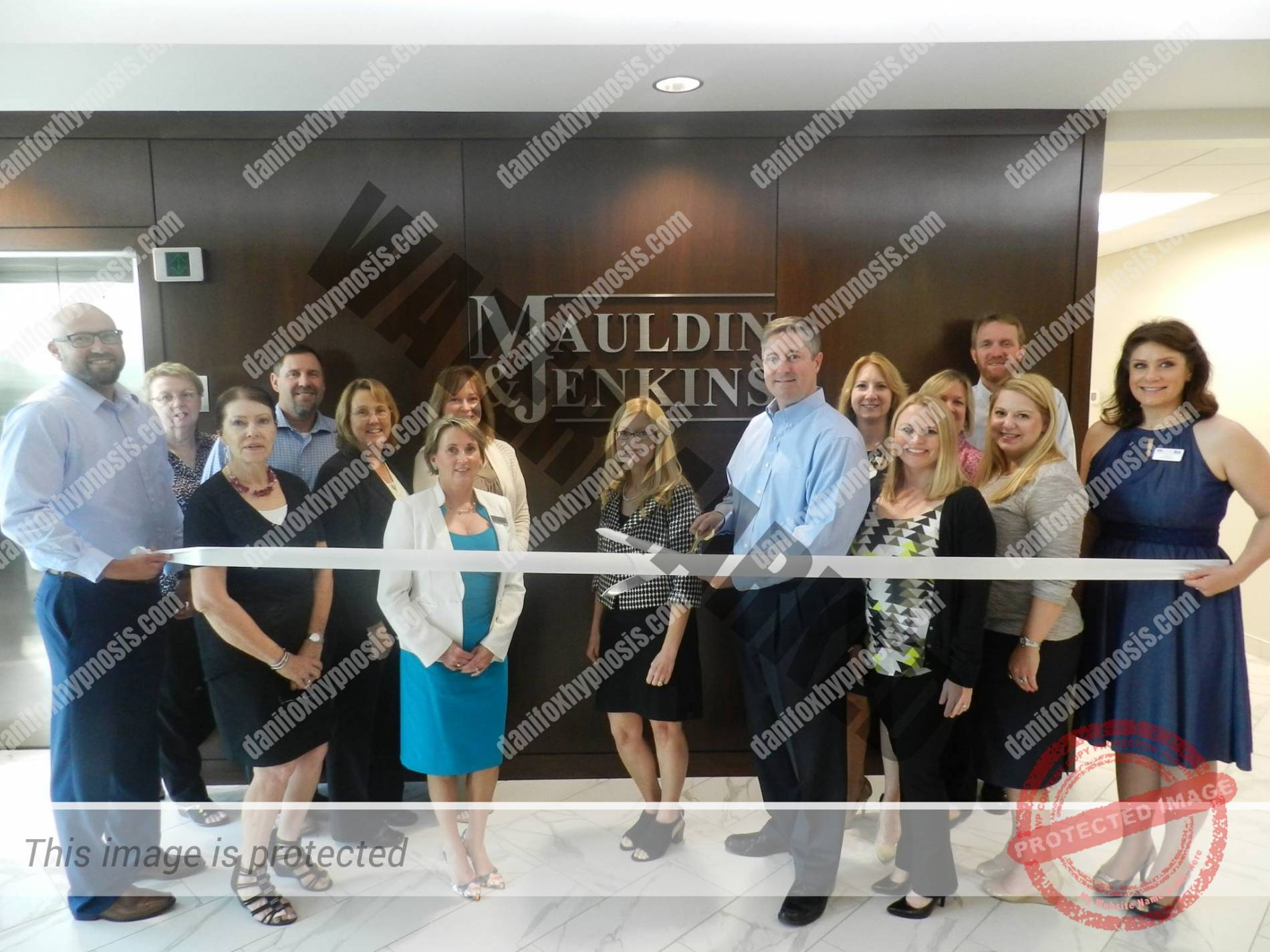 2016 Mauldin & Jenkins Ribbon Cutting